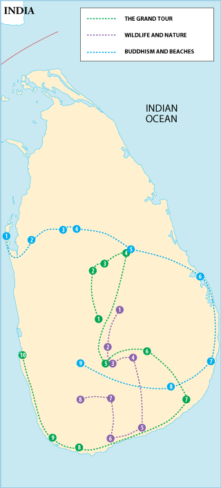 Sri Lanka Itineraries
