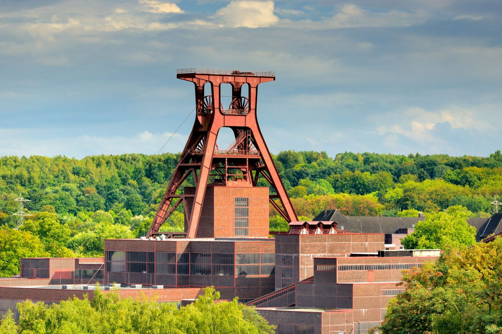 Essen: heritage-protected colliery Zollverein