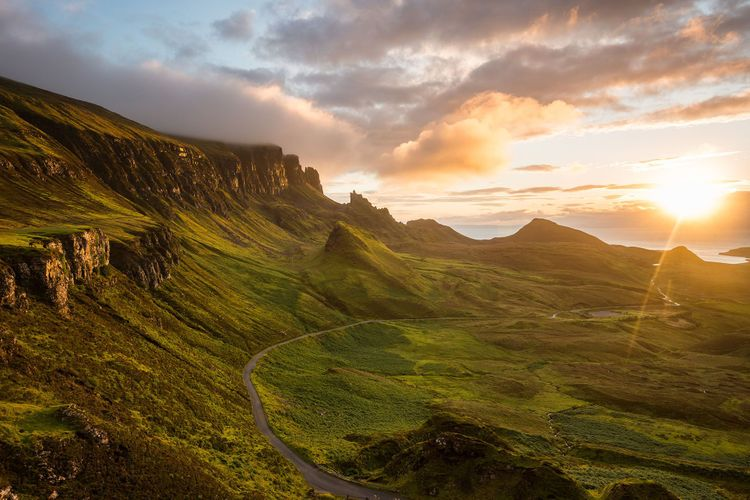 The Quiraing, Skye, Scotland © orxy/Shutterstock