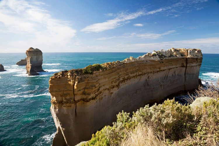Australia, Victoria, Port Campbell National Park, rock formations