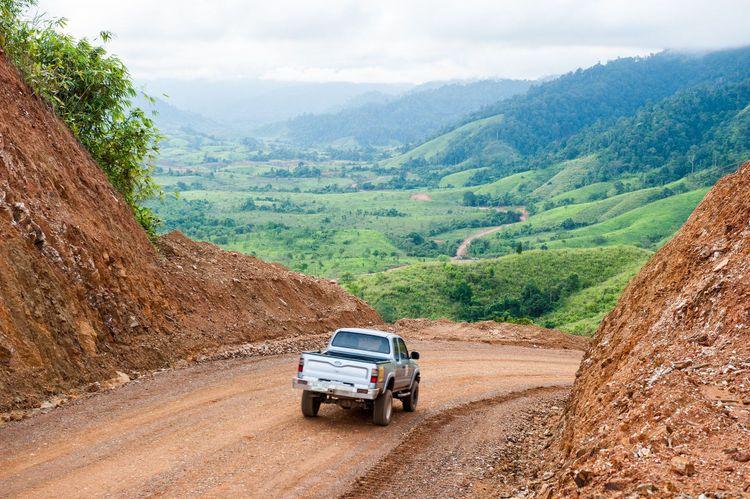 Road to Dawei Deep Sea Port, Burma, Myanmar