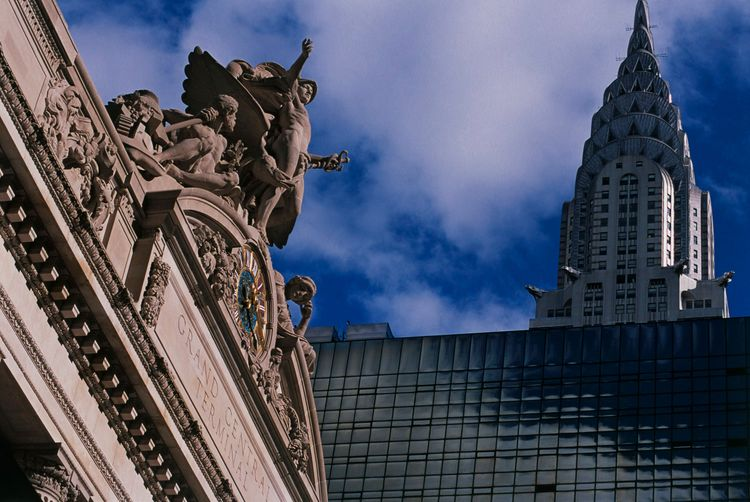 Grand Central Terminal and the Chrysler Building, New York City, NYC
