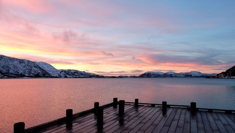 Arctic Norway, fjord