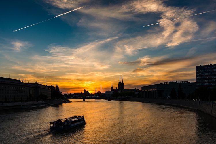 Wroclaw, river, Poland