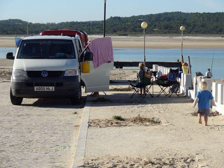 Roadside camping