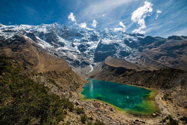 Lake Humantay, Salkantay, Peru