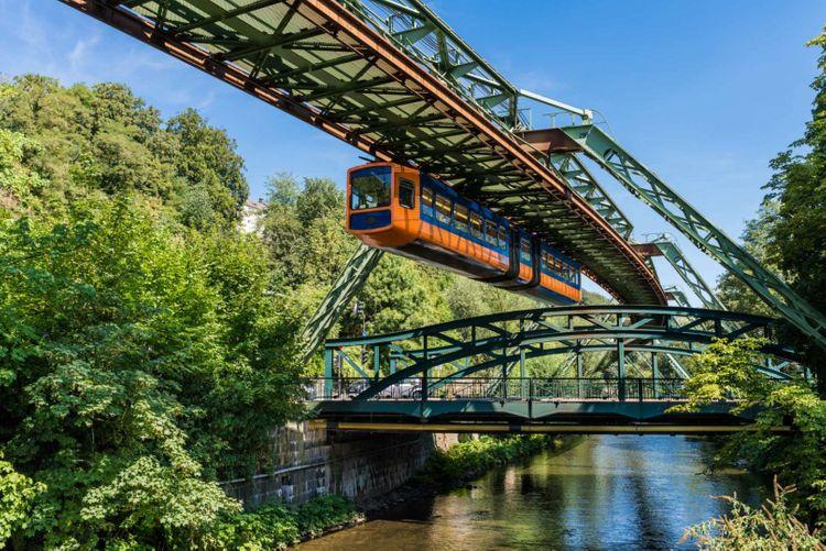 schwebahn-floating-tram-wuppertal-germany-shutterstock_1316522507