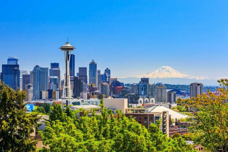 Seattle Skyline, Washington, USA