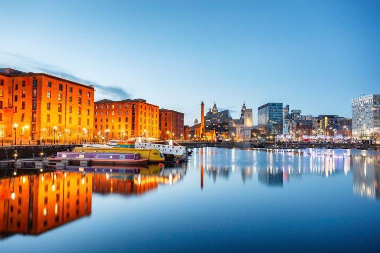 Albert Dock at Liverpool waterfront