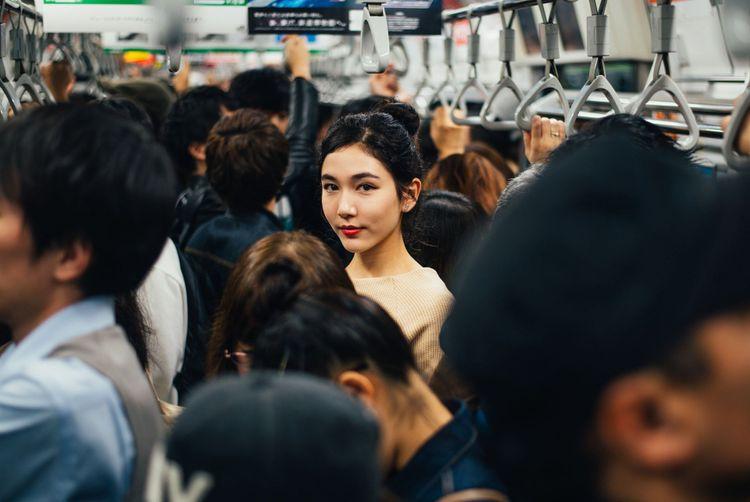 In the Tokyo metro © oneinchpunch/Shutterstock