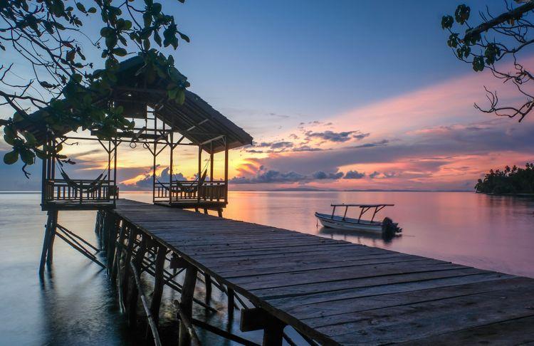 Una Una island, Indonesia